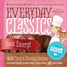 Everyday Classics Excerpt- recipes for pancakes, brownies, chicken pot pie