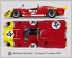 Alfa Romeo T-33/3 - 1970