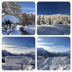 Breath-taking scenery at Aiglon campus after days of snow. College Campus, Swiss Alps, Take A Breath, Scenery, Snow, Seasons, Day, Nature, Travel