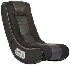 V Rocker 5130301 SE Video Gaming Chair Wireless Black with Grey