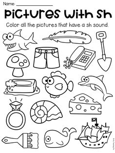 Beginning Digraphs: SH- There are tons of activities in