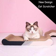Corrugated Paper Cat Scratch Board Cat Scratching Cat Pad Scratchboard, Cat Scratcher, Pet Furniture, Scratching Post, Pet Mat, Kitten, Pets, Paper, Animals