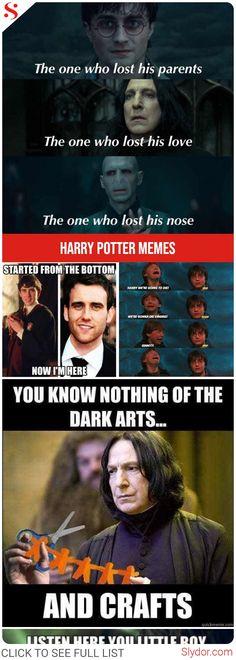 Harry Potter Memes - Only A True Potterhead Can Understand #harrypotter #harrypotterforever #fandom #memes #potterhead #funny #funnymemes #love