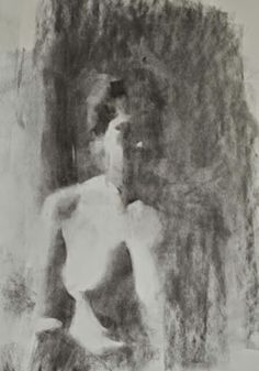 Elisabeth larson Charcoal on paper 2014, size currently unavailable