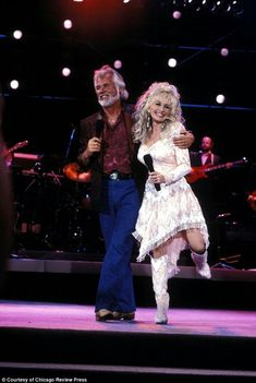 Dolly Parton et Kenny Rogers