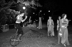 #monociclo #recepcion #Circo #Años20 en #palaciosanssouci #wedding cocktail #contenidosartisticos producido por www.anaromans.com #creativeevents