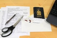 Picture of all objects (application form, passport pictures, mail envelope and expired passport) used to apply for Canadian passport renewal by mail. — Photo by morning-light Expired Passport, Stolen Passport, Passport Office, Passport Renewal, Passport Pictures, Canadian Passport, Object Photography, Travel Companies, Discount Travel