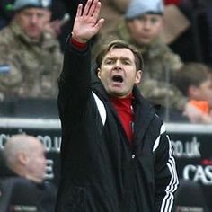 Fulhams Caretaker Head Coach, saw the team draw 1.1 away to MKDons.
