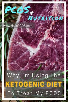 The Ketogenic diet has been proven to be successful for women with PCOS. Find out everything you need to know about PCOS and the Keto diet here. Cyclical Ketogenic Diet, Ketogenic Diet Food List, Pcos Diet, Keto Diet Plan, Ketogenic Recipes, Keto Meal, Diet Plans, Pcos Food, Keto Recipes