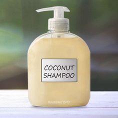 Coconut milk shampoo - Dry hair shampoo