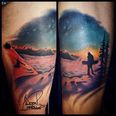 10 Snowboarding Tattoos That Will Make You Want To Hit The Slopes