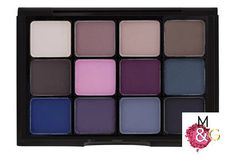 VISEART 12 SHADOW PALETTE - COOL MATTE 07