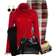 """""""Classy Cable Knit Sweater Contest"""" by kginger on Polyvore"""
