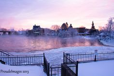 Almonte, Ontario - how beautiful Ottawa Valley, How Beautiful, Ontario, Places Ive Been, Buildings, Canada, Exterior, River, Memories