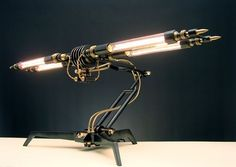 Another cool steampunk lamp