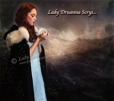 New Art From Persy!  Lady Druanna Scry's.. https://facebook.com/PersephanePendrake