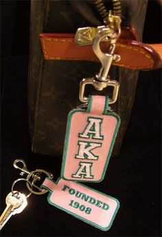 AKA clip keychain