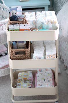 IKEA Diaper Changing Cart