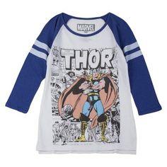 Marvel Thor Baseball tee from Target.