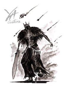 Giant Lord-Print | Etsy Dark Souls 2, Fantasy Art, Lord, Art Prints, Fair Price, Bloodborne, Artist, Artwork, Exceed