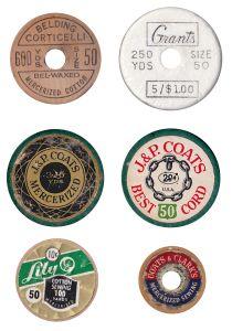 Vintage Thread Spool Embellishments | Call Me Victorian