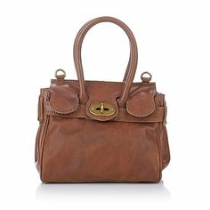 Clever Carriage Petite Heritage Leather Crossbody Bag
