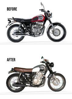 Classic Mash Five Hunfred cherry red Scrambler / Street Tracker Custom Motorcycle Shop, Tracker Motorcycle, Scrambler Motorcycle, Moto Bike, Custom Motorcycles, Custom Bikes, Cars And Motorcycles, Classic Motors, Classic Bikes