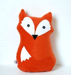 Felix Fox Plush Stuffed Animal Children's by FriendsOfSocktopus, $25.00