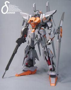 MSN-001X1 Prototype Delta Gundam Papercraft by Rarra - http://www.papercraftsquare.com/msn-001x1-prototype-delta-gundam-papercraft-by-rarra.html#DeltaGundam, #Gundam, #MobileSuitGundamUnicorn, #MSN001, #MSN001X1, #MSN001X1PrototypeDeltaGundam