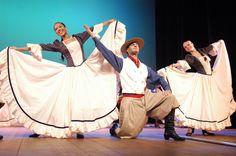 dança gaúcha - sul do Brasil