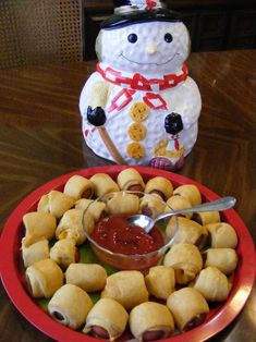 *Pigs In A Blanket Fancified...Also an alternative to pigs in blanket recipe here,
