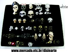 Anéis de Caveira  www.mercado.etc.br/dixiearte