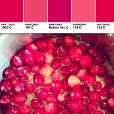 Happy Eat a #Cranberry Day to all! #myPantone #colorinspires