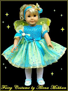 http://alenamokhan.com/                                    Disney Fairy Costume  American Girl or other  $36.00