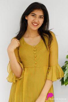 Beautiful ladies latest designs kurtis - Simple Craft Ideas - - Beautiful ladies latest designs kurtis – Simple Craft Ideas Source by sasikalamalredd Punjabi Suit Neck Designs, Churidar Neck Designs, Neck Designs For Suits, Kurta Neck Design, Sleeves Designs For Dresses, Salwar Designs, Dress Neck Designs, Kurta Designs Women, Pakistani Dress Design