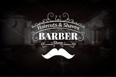 Barber Shop Logo 90 OFF Templates Introducing **Vintage Barber Shop logo**, a logo with muctache and swilrs elements. We used black& by Vintage Shop Shop Logo, Barber Business Cards, Creative Haircuts, Barber Logo, Barber Poster, Diy Furniture Plans, Furniture Logo, Furniture Cleaning, Furniture Websites
