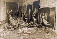 Obras de museos de Madrid salvadas durante la guerra civil