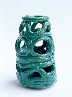 Age 9...coil pots with a twist