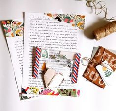 Hand Written Pen Pal  Snail Mail Ideas Letter Writing Happy