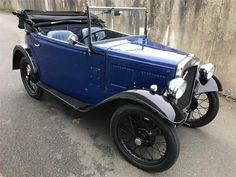 Classic Motors For Sale has classic cars for sale plus a selection of vintage cars from dealers and auctions in UK, US, and Europe. Vintage Cars, Antique Cars, Vintage Auto, Classic Motors, Classic Cars, Austin Cars, Veteran Car, Sweet Cars, Old Cars