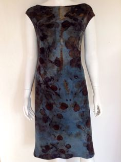 Pia Best-Reininghaus Natural Dye Fabric, Indigo Dye, How To Dye Fabric, Tye Dye, Day Dresses, Short Sleeve Dresses, Crafty, Projects, Outfits
