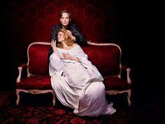 Elina Garanca and Renee Fleming in the soprano's last Rosenkavalier