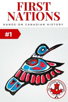 Hands-On Canadian History: First Nations Inspired Art - - The First Nations of Canada have history that includes rich and vibrant traditions, culture, stories, and artwork. Be inspired for your own art project. Aboriginal Education, Indigenous Education, Indigenous Art, Aboriginal Art, Aboriginal Culture, Art Education, Native Canadian, Canadian History, Canadian Art