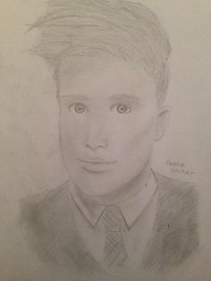 I drew Patrick from Fall Out Boy
