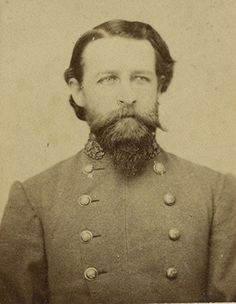 Brigadier General CSA John Rogers Cooke (June 9, 1833 – April 10, 1891) was the son of Union General Philip St. George Cooke and the brother-in-law of Confederate cavalry leader General Jeb Stuart.  Leading a brigade in action at the Battle of Fredericksburg, Cooke was badly wounded when a bullet entered over his left eye and fractured his skull. He was able to return to the field in April 1863.