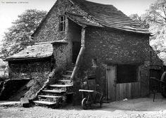 Kenworthy Hall Farm, Northenden, Wythenshawe by archivesplus on Flickr.Outbuilding at Kenworthy Hall Farm, Northenden . Photo by T. Baddeley. No date m26208