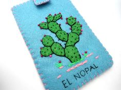 el nopal loteria mexicana ipod iphone case by romualda on Etsy, $23.50