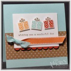 Card - Birthday gifts