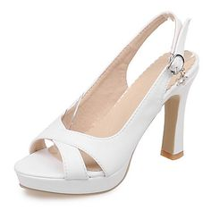 Womens Shoes Chunky Heels Platform Open Toe Sandals Party  Evening Dress  Green