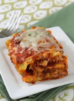 Weeknight meals just got easier with this easy and cheesy Lasagna Roll Ups recipe. Your entire family will ask for seconds!